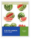 Watermelons Word Templates