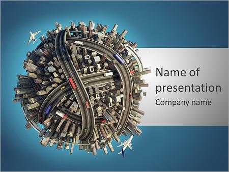Развитие инфраструктуры Шаблоны презентаций PowerPoint