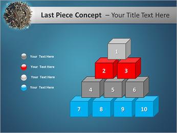 Desenvolvimento de Infra-estrutura Modelos de apresentações PowerPoint - Slide 11