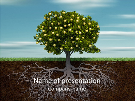 Fruit Tree Modèles des présentations  PowerPoint