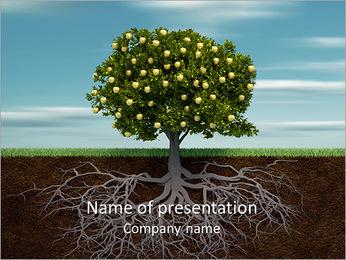 Fruit Tree Modèles des présentations  PowerPoint - Diapositives 1