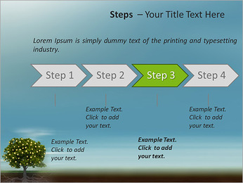 Fruit Tree Modèles des présentations  PowerPoint - Diapositives 4