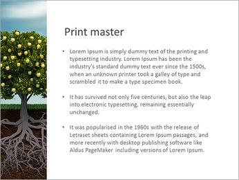Fruit Tree Modèles des présentations  PowerPoint - Diapositives 76