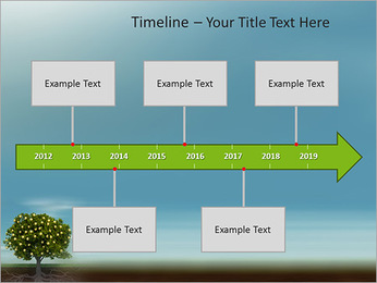Fruit Tree Modèles des présentations  PowerPoint - Diapositives 8