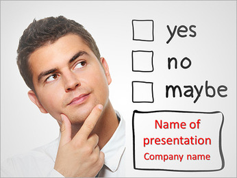 Answering Test Questions PowerPoint Template