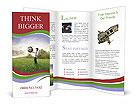Boy Holds Earth Brochure Templates
