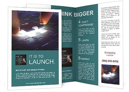 Last Puzzle Element Brochure Template & Design ID 0000004328 ...