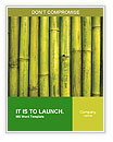 Green Bamboo Word Templates