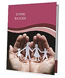 Paper Family Members Presentation Folder