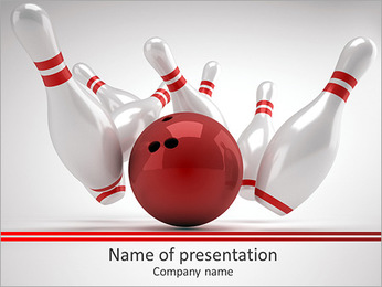 Skittles Game PowerPoint Template