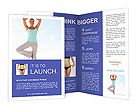 Yoga Asana Brochure Templates