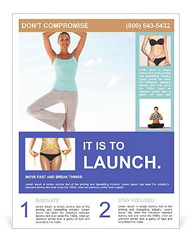 yoga asana flyer template design id 0000004349. Black Bedroom Furniture Sets. Home Design Ideas