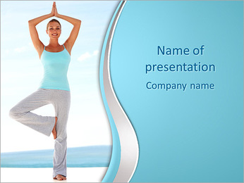 Yoga Asana PowerPoint Template