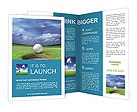 Playing Golf Brochure Templates