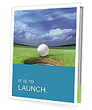 Playing Golf Presentation Folder