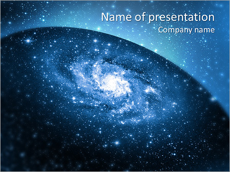 mystic galaxy powerpoint template backgrounds google slides id