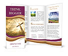 Catholic Cross Brochure Template