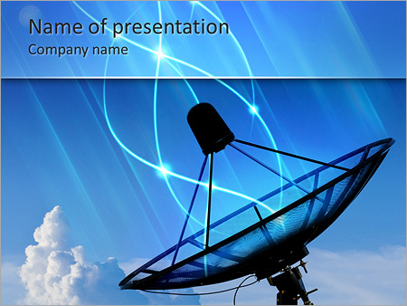 Antenna powerpoint template backgrounds google slides id antenna powerpoint template toneelgroepblik Images