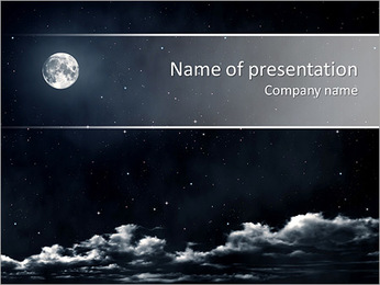 Mystic Night PowerPoint Template