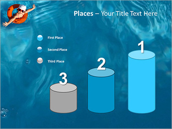 Girl In The Swimming Pool PowerPoint Template - Slide 45