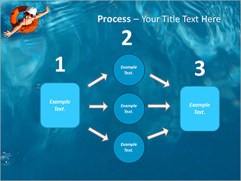 Girl In The Swimming Pool PowerPoint Template - Slide 72