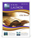 Bible Book Flyer Template