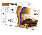 Bible Book Postcard Template