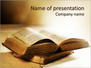 Bible Book PowerPoint šablony