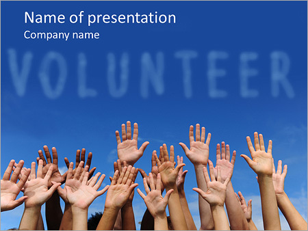 Volunteering powerpoint template backgrounds google slides id volunteering powerpoint template toneelgroepblik
