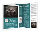 Team Of Colleagues Brochure Template