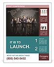 Team Of Colleagues Poster Template