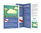 Cloud And Ladder Brochure Templates