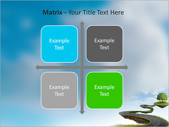 Tree On The Road PowerPoint Template - Slide 17
