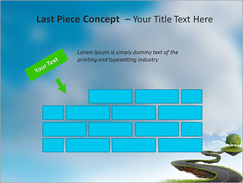Tree On The Road PowerPoint Template - Slide 26