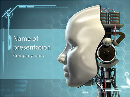 Mechanism of robots powerpoint template backgrounds id 0000004393 mechanism of robots powerpoint template toneelgroepblik Images