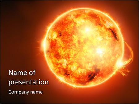 Radiation powerpoint template smiletemplates sun powerpoint template toneelgroepblik Gallery