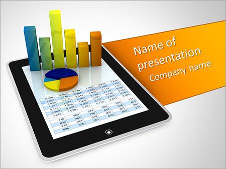 Ipad financial report powerpoint template backgrounds id ipad financial report powerpoint template toneelgroepblik Image collections