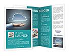 Cloud Picture Brochure Templates