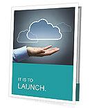 Cloud Picture Presentation Folder