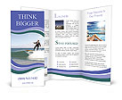 Business Surfing Brochure Templates