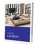Living Room Interior Design Presentation Folder
