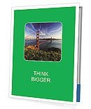San Fransisco Brodge Presentation Folder