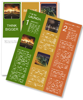 modern city newsletter template design id 0000004413