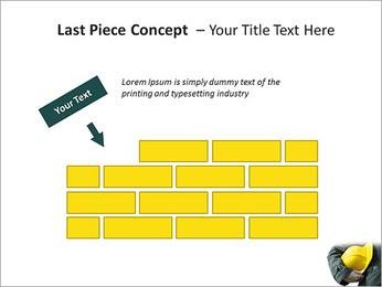 Trabalhador na área da construção Modelos de apresentações PowerPoint - Slide 26