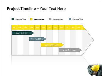 Trabalhador na área da construção Modelos de apresentações PowerPoint - Slide 5