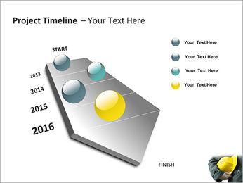 Trabalhador na área da construção Modelos de apresentações PowerPoint - Slide 6