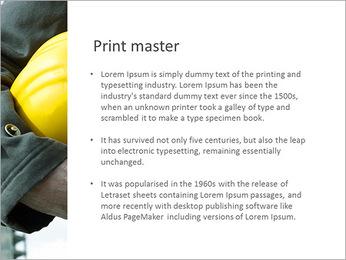 Trabalhador na área da construção Modelos de apresentações PowerPoint - Slide 76