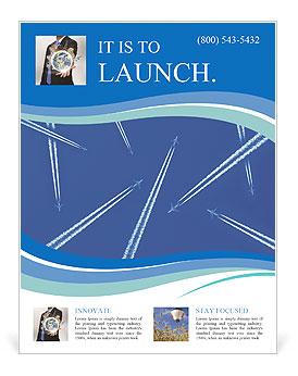 plane parade flyer template design id 0000004420 smiletemplates com