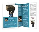Elephant On Ball Brochure Templates