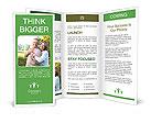 Loving Couple Outdoors Brochure Templates